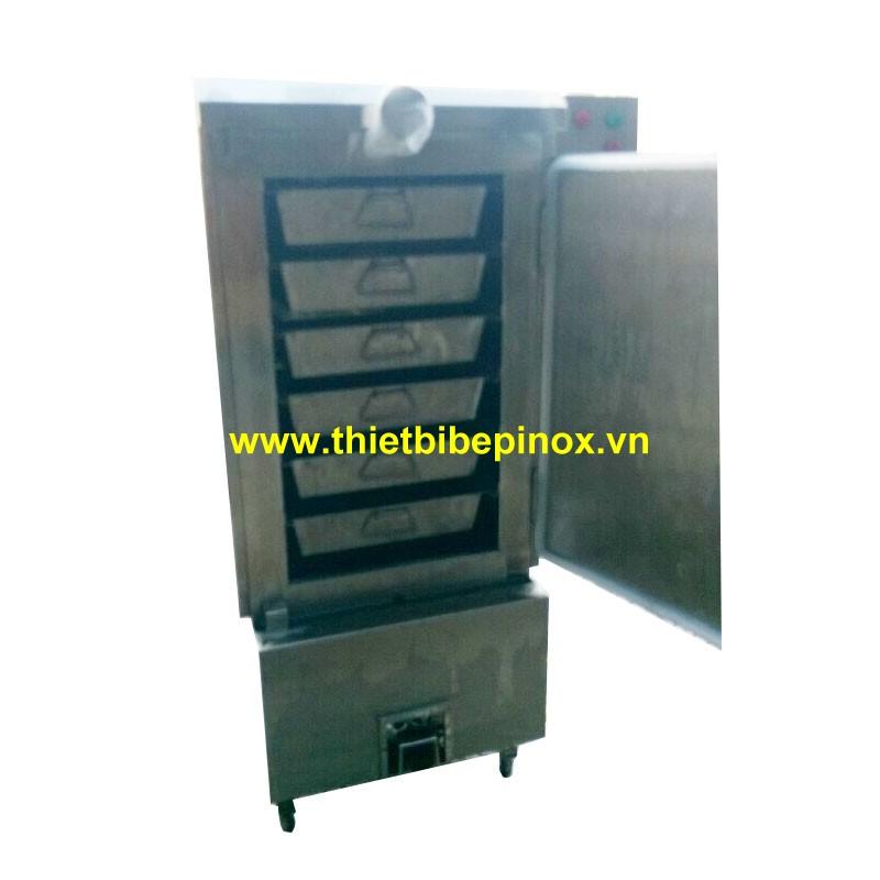 tủ nấu cơm công nghiệp bằng gas 20kg